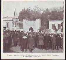 1920  -TANGER  PAVILLON CHERIFIEN SUR ANCIENNE LEGATION