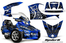 CAN-AM BRP SPYDER RT RT-S GRAPHICS KIT CREATORX DECALS SPIDERX SXBL