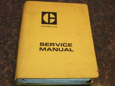 CAT CATERPILLAR SPECIFICATIONS SERVICE MANUAL