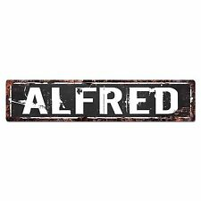 SFND0125 ALFRED MAN CAVE Street Chic Sign Home man cave Decor Gift