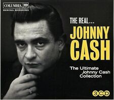 Johnny Cash ‎– The Real... Johnny Cash ( 3 CD - Compilation )