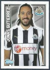 TOPPS 2012/13 PREMIER LEAGUE #142-NEWCASTLE UNITED & ARGENTINA-JONAS GUTIERREZ