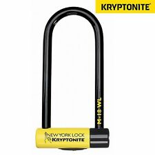 Kryptonite New York m18 BICICLETTA SCOOTER D U SERRATURA CHIAVE oro venduto Sicuro 18mm