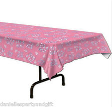 It's a Girl! Baby Shower Plastic Table Cover Decoration  - 57385