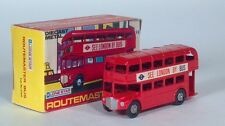 """Lone Star AEC Routemaster Double Decker See London By Bus 4"""" Scale Model Box"""