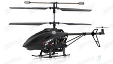 UDI U13A 3 Channel RC Spy Helicopter 2.4Ghz with Video Camera BLACK New