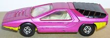 MATCHBOX LESNEY ENGLAND superfast ALFA CARABO VIOLET/JAUNE REF 75 1970 3 INCHES