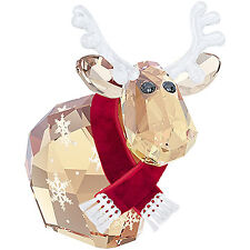 SWAROVSKI CRYSTAL 2014 LOVLOT REINDEER MO 5059025 MINT BOXED RETIRED