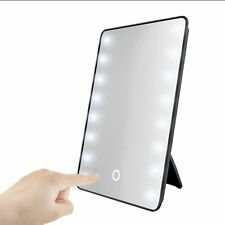 Smart Touch 16 LED Lighted Mirror Beauty Makeup Cosmetic Dimmable Table Mirror