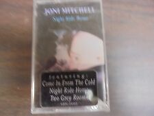 "NEW SEALED ""Joni Mitchell"" night ride Home  Cassette Tape (G)"