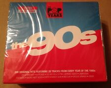 200 Original Greatest Hits Of The 90's 10 x Cd Box Set 1990 - 1999 NEW & SEALED