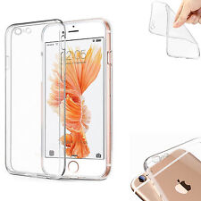 COVER PER IPHONE 6S/6 APPLE TRASPARENTE MORBIDA CUSTODIA SOTTILE TPU CLEAR SLIM