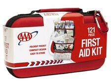 First Aid Kit Emergency Bag Medical Supplies 121 Pcs Car Travel Home Office Case
