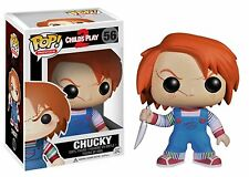 Funko POP Chucky Vinyl Figure Bobble-Head #56 Child's Play 2 Horror Classic
