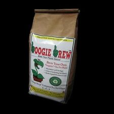 16lbs BOOGIE BREW 100% Organic Compost Tea Fertilizer For Fruit & Vegetables