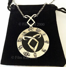 MORTAL INSTRUMENTS ANGELIC POWER RUNE NECKLACE SYMBOL SHADOWHUNTER PENDANT CLARY