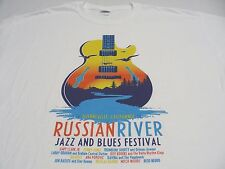 RUSSIAN RIVER JAZZ AND BLUES FESTIVAL - CALIFORNIA - SMALL SIZE T SHIRT!