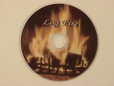 LOG FIRE  DVD WITH NATURAL SOUNDS OR SOOTHING MUSIC OR BOTH TOGETHER.  VERY WARM