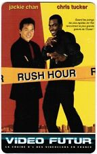 N° 72 VIDEO FUTUR - CARTE  COLLECTOR -  RUSH HOUR   -  ETAT LUXE
