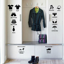Stickers For Clothes Organizer Cabinet Drawer Bedroom Decorative Removable Decor