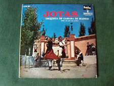 ORQUESTA DE CAMARA DE MADRID: JOTAS LP 33T 1960 French BARCLAY MONTILLA 28025