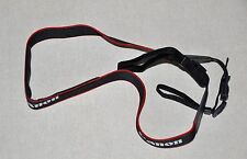 CANON BLACK/RED/WHITE W 28mm GENUINE SHOULDER NECK STRAP[PRINTED] FOR DIGITAL CA