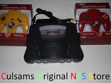 NINTENDO 64 N64 SYSTEM CONSOLE COMPLETE WITH POKEMON STADIUM & GUARANTEE