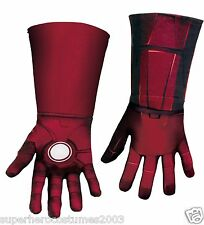 The Avengers Iron Man Mark VII Deluxe Child Gloves Marvel Comics NWT 43716