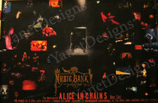 Alice In Chains Poster Layne Staley Jerry Cantrell Music Bank 24x36 1999