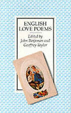 English Love Poems,GOOD Book
