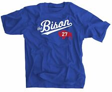 The Bison SMALL Shirt - Atlanta Braves - 27 Jersey T Shirt - Matt Kemp