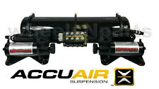 AccuAir VU4 Suspension System EXO Mount Airmaxxx Blk 480 Air Compressors Tank