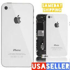Housing iPhone 4S White Battery Cover Door A1387 GSM CDMA Glass Back Cover/ OEM
