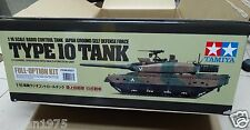 Tamiya # 56037 1/16 RC JGSDF Type 10 Tank - Full Option Kit NEW IN BOX