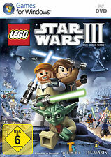 Lego Star Wars 3 III - The Clone Wars für PC in DVD Hülle kpl. Deutsch