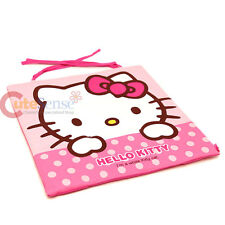 Sanrio Hello Kitty Pink Polka Dots Slim Chair Cushion with Tie Strap