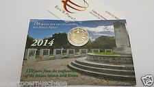 Coin card 2 euro 2014 GRECIA Grece Griechenland Greece isole Ioniche ioniennes