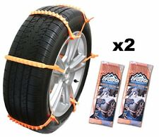 Zip Grip Go Emergency Tire Traction Aid Snow Chain Alternative for Vehicle (2ct)