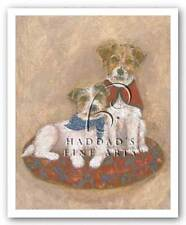 DOG ART PRINT Jack Russell by Carol Ican