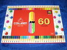 COLLEEN 60 Colors box of 30 NEON Coloured Pencils - No 787 -