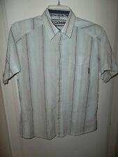 MEN'S SHORT SLEEVE CASUAL SHIRT BY BILLABONG LARGE SLIM FIT