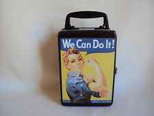 COLLECTIBLE 1999 WE CAN DO IT LUNCH TIN BOX