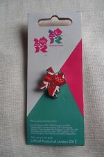 Olympics LONDON 2012 Union Jack Logo official pin lapel badge new, free u.k. p&p
