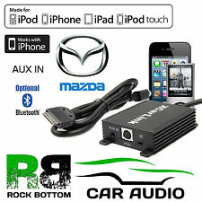 Mazda 3 Car Stereo Radio AUX IN iPod iPhone Bluetooth Interface Connection Cable