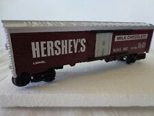 LIONEL O AND 027 GAUGE  WOODSIDED HERSHEY'S MILK CHOCOLATE REEFER