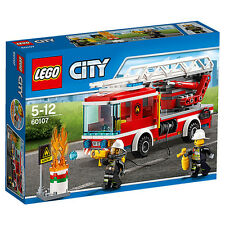 NEW LEGO City Fire Ladder Truck 60107 Age: 5 - 12