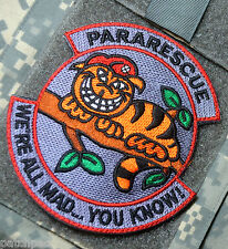 AFSOC EXPEDITION WING NPEDRO PJ PARARESCUE SSI: Cheshire Cat We're All Mad Here