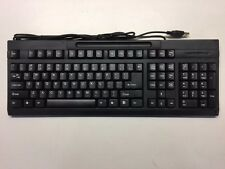 Hewlett Packard HP Black Keyboard BT-KB104U-B 104 Keys USB Standard Keyboard