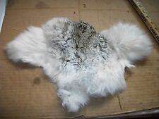 NICE tanned JACK RABBIT FUR pelt skin NATIVE CRAFTS supplies bag purse pouch R3