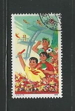 China PR 1975 35f 3rd National Games stamp used as per scan